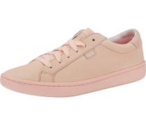 'Ace Mono' Leather Sneakers rosa