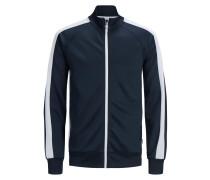 Sweatshirt nachtblau / weiß