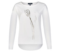 Modernes Shirt mit floralem Print
