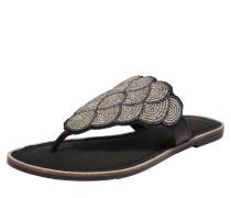 Sandale grau / schwarz