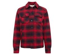 Jacke 'timber1' rot / schwarz