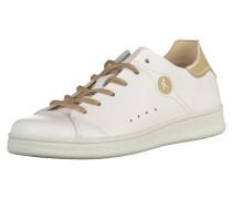 Sneaker hellbeige / weiß
