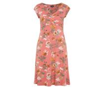 Kleider & Jumpsuits Jersey-Kleid mit Falten am Ausschnitt