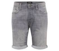 Jeansshorts 'rick' grey denim