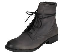 Stiefel mit Schnürung grau