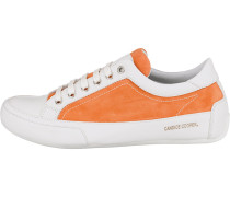 Sneakers Low orange / weiß