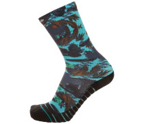 'Athletic Fusion Aqua Cabo Crew' Socken