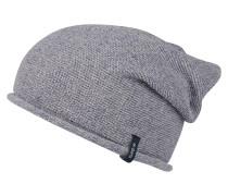 Mütze 'Boucan' blaumeliert / graumeliert