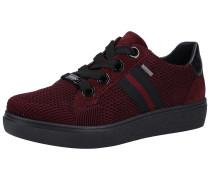 Sneaker blutrot / schwarz