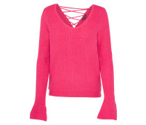 Pullover 'lace' pink