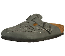 Clogs 'Boston' bronze / khaki / silber