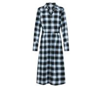 Kleid 'Juliane' blau / hellblau / schwarz