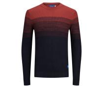 Pullover rot / blau
