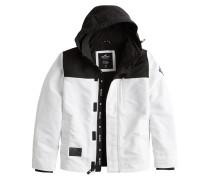 Jacke 'xm19' schwarz / weiß