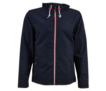 Softshelljacke 'Isle of Skye' navy / rot