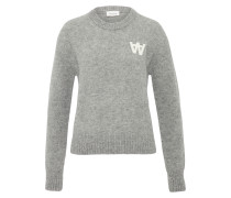 Wollsweater 'anneli' grau