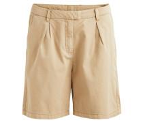 Schlichte Shorts hellbeige / braun