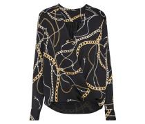 Shirt gold / schwarz / silber