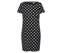 Kleid 'vitinny' schwarz / weiß