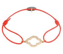 Armband 'Floris' gold / rot