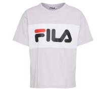T-Shirt 'Allison' flieder / weiß