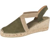 Sandaletten 'Tona' beige / khaki