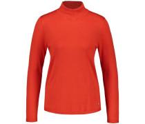 Pullover orangerot