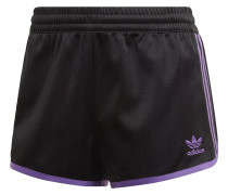 ' Shorts ' lila / schwarz