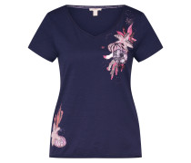 Shirt 'AW Print Tee' navy / mischfarben
