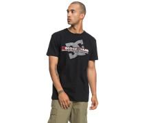 Destroy Advert T-Shirt schwarz