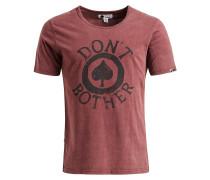 Shirt 'Louis ' rot / schwarzmeliert