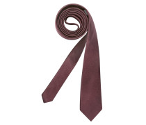 Krawatte ' Slim ' blutrot