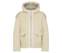 Jacke 'Bonded teddy jacket with hood'