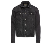 Jacke 'dnm Auth Anthra' black denim