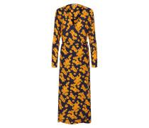 Kleid 'Daisy' gelb / schwarz