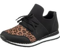Sneaker schwarz / braun