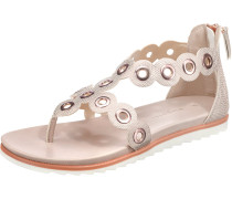 Sandale altrosa / weiß