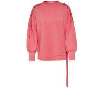 Detailreiches Sweatshirt pink