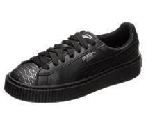 Sneaker 'Basket Platform Ocean' schwarz