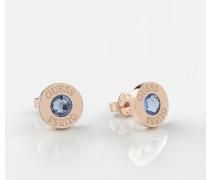 Ohrringe blau / rosegold