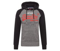 Sweatshirt 'Store' dunkelgrau / schwarz