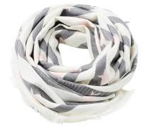 Schal grau / weiß