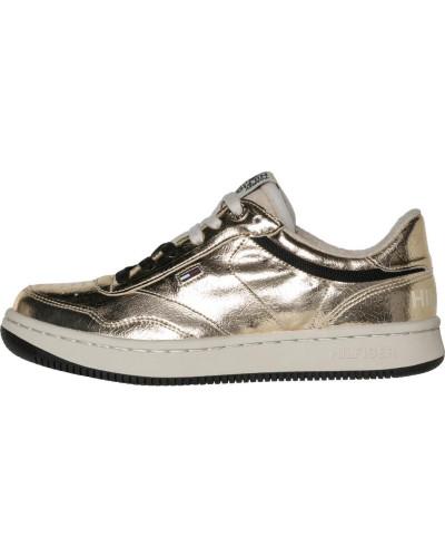 Tommy Hilfiger Damen Sneaker 'wmns J1385Ump 1Z1' gold Billig Empfehlen Verkauf Großer Verkauf GFpUi