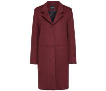 Mantel karminrot
