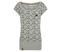 T-Shirt 'Wolle' graumeliert