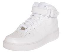 Sneaker 'Air Force Mid' weiß