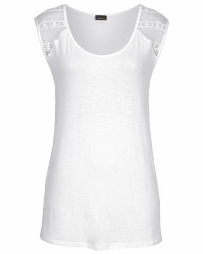 Strandshirt weiß