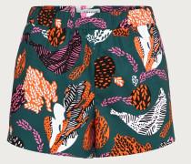 Shorts 'Thelma' grün / mischfarben
