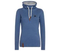 Knit 'Geh Weg' blau