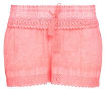 Shorts Welle-Farbstoff 'beach' pink